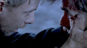 Dark Mirror - John Simm as The Master and David Tennant as The Tenth Doctor in The End of Time