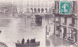 The Paris floods of 1910
