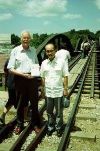 Eric Lomax with Takashi Nagase