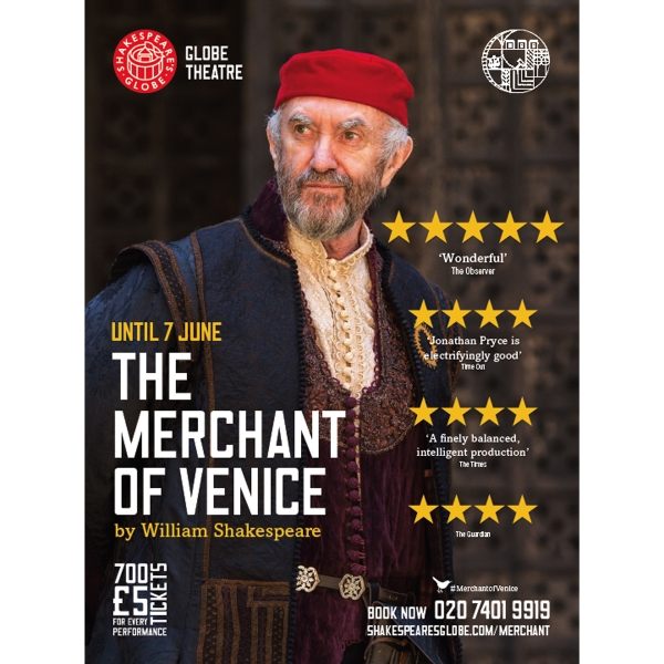 Jonathan Pryce as Shylock